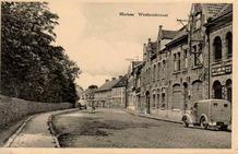 Merkem: zicht op de Westbroekstraat