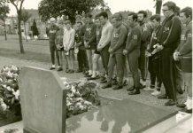 """Roeselare: Sint-Janse wielertoeristen """"Blijf Jong"""" bij graf Monseré"""