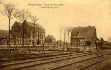 Hoekje (Vlamertinge): het spoor en de Poperingseweg