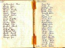 Poelkapelle: schriftje H kindsheid 1971-197-1973