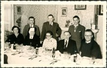 Handzame: een christelijk gezin aan tafel