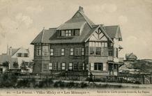 De Panne: villa's les Mésanges en Micky, samen één grote cottage