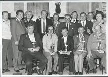 Leke: uitreiking trofeeën aan duivenkampioenen