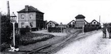 Ieper: stelplaats buurtspoorwegen eind 19e eeuw