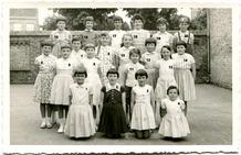 Lo: vijfde leerjaar Vrije Basisschool in 1960