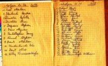 Poelkapelle: schriftje H kindsheid 1976-1977