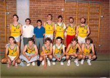 Handzame: basketbalclub van jeugdhuis De Meeuwe