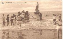 De Panne: terug van boottocht