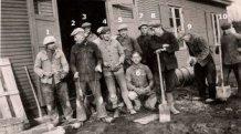Passendale: arbeiders in de bouw