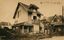 De Panne: Villa Noss Mohone in de Bortierlaan