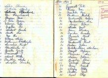 Poelkapelle: schriftje H kindsheid 1970-1971