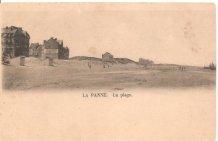 De Panne: oudste bebouwing op de westelijke Zeedijk