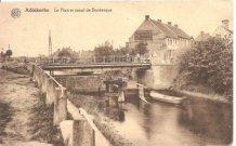 Adinkerke: oude brug over Duinkerkevaart
