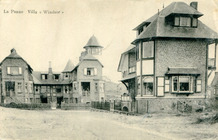 De Panne: villa's Bouquet des Dunes en Windsor; architect Albert Dumont