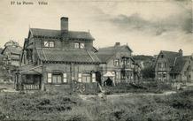 De Panne: twee vrijwel identieke koppelvilla's in Dumontlaan en Kykhillweg