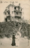 De Panne: Villa Mytyl, hoog op de Witte Berg
