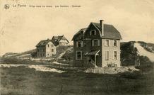 De Panne: villa's in het oostelijk deel van de Koninginnelaan