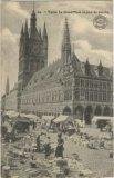 Ieper: zaterdagmarkt op de Markt