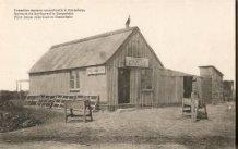 Zonnebeke: eerste barak tijdens de wederopbouw