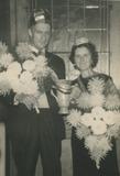 Nieuwpoort: koning en koningin van de palingvissers jaren 60