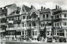 Sint-Idesbald: Zeedijk in de jaren '50