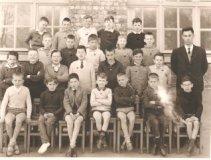De Panne: klasfoto vijfde leerjaar St.-Pieterscollege 1962-1963