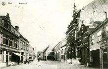 Lo: de Weststraat voor de Eerste Wereldoorlog