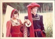 Hollebeke: koppel uit de Bourgondische tijd in de stoet Hollebeke-1000