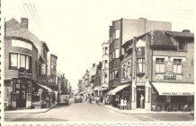 De Panne: zicht op Kasteelstraat