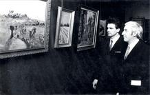 Ieper: opening kunsttentoonstelling Roger Depuydt