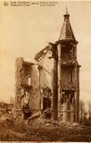 Houthulst: kasteel Coteau de Simencourt tijdens de Eerste Wereldoorlog