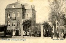 Poperinge: kasteel aan het station