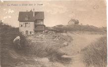 De Panne: villa's in de Houtsaegerduinen