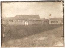 Ieper: barakken van het hospitaal