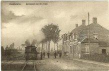 Oostvleteren: aankomst van de tram