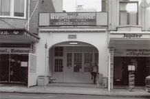De Panne: tramhalte NMVB in Nieuwpoortlaan
