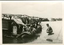 De Panne: achtergelaten legermateriaal op het strand