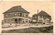 Koksijde:eerste villa's in de duinen