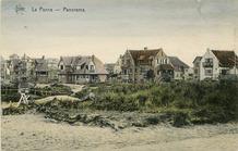 De Panne: zes villa's in de Visserslaan