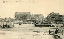 De Panne: toeristische kaart verstuurd tijdens de oorlog