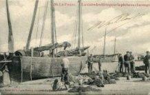 De Panne: vissers bevestigen drijfnetten aan 'reep'