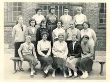 Nieuwpoort:  klasfoto Arme Klaren schooljaar 1958-1959