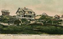 De Panne: enkele villa's op de duinen