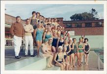 Ieper: leden van de dameszwemclub