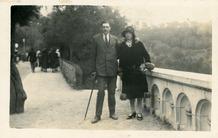 Biarritz (Fr): huwelijksreis van Maurice en Ella Joye-Haerynck