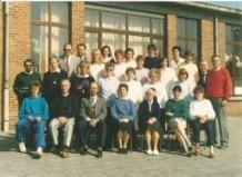 De Panne: lerarenkorps Immaculata Instituut 1988