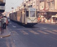 De Panne: tram in Nieuwpoortlaan