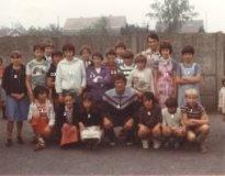 Madonna (Langemark): Jean-Marie Pfaff op schoolbezoek in 1983