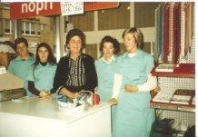 De Panne: het personeel van grootwarenhuis Nopri