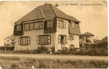 Koksijde: eerste villa's in de duinen